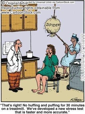Psychiatry Joke: Stress Test