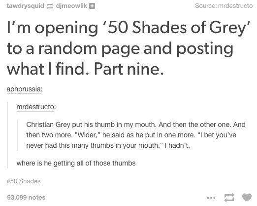 50 shades of nay