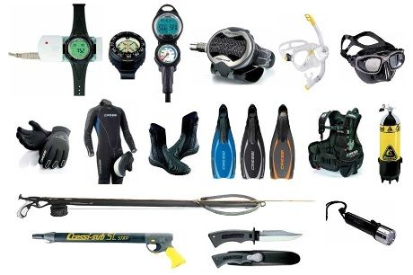 Diving Gear & Accessories