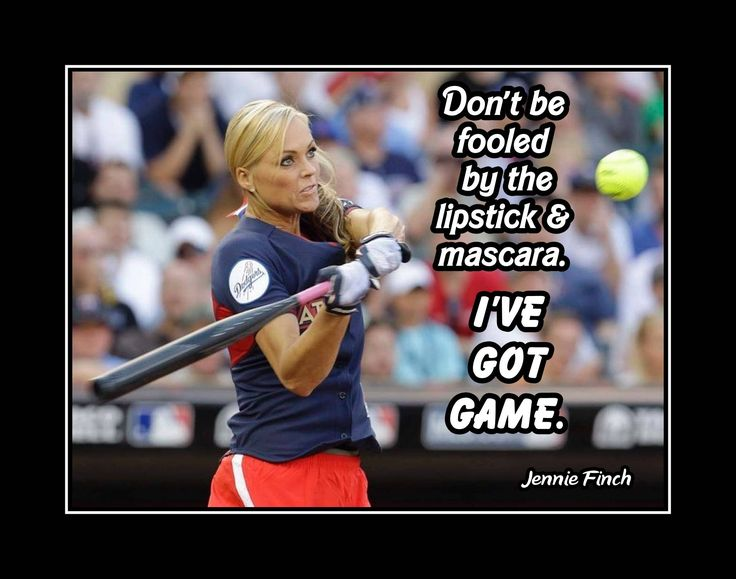 "Jennie Finch Softball Motivation Wall Art Gift, Daughter Wall Decor, Role Model Quote Poster, Confidence I Got Game, 8x10"", 11x14"" Free Ship by ArleyArt on Etsy"