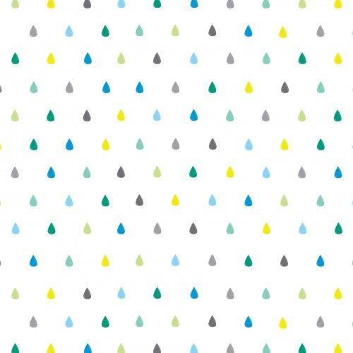 Rain Drops Wallpaper by BC Magic Wallpaper.