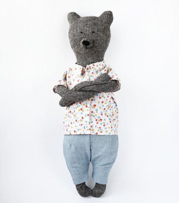 Медвежонок Франк от PhilomenaKloss на Etsy