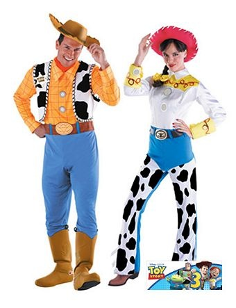 Adult Toy Story Deluxe Jessie Couples Costume | Wholesale Couples Halloween Costume for Women