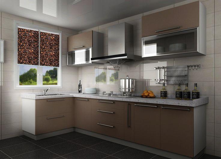 Kawowy nastrój w Twojej kuchni z Fotoroletami deKEA. Więcej wzorów: http://www.dekea.pl/pl/dzial/fotorolety-rolety-okienne