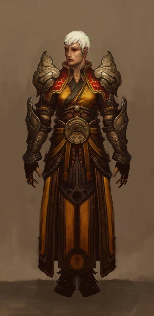 Diablo III's Female Monk Has The Cutest Haircut
