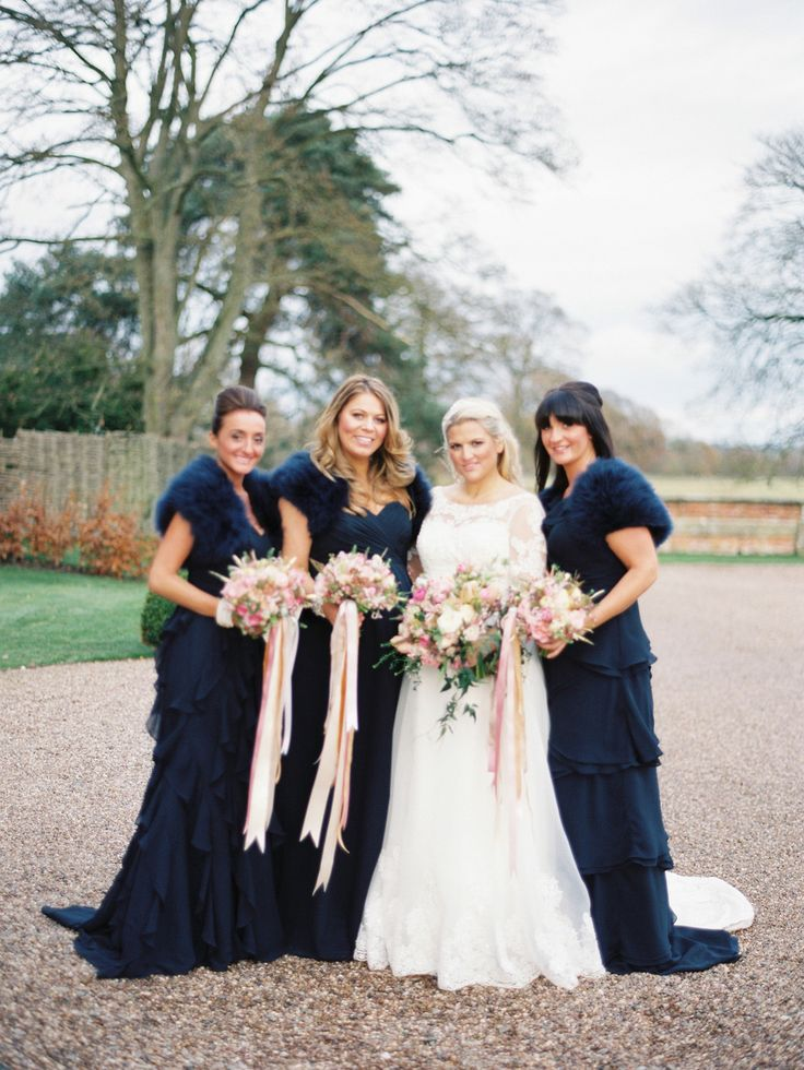 17 best images about cindie toms wedding on pinterest for Bridesmaid dresses for winter weddings