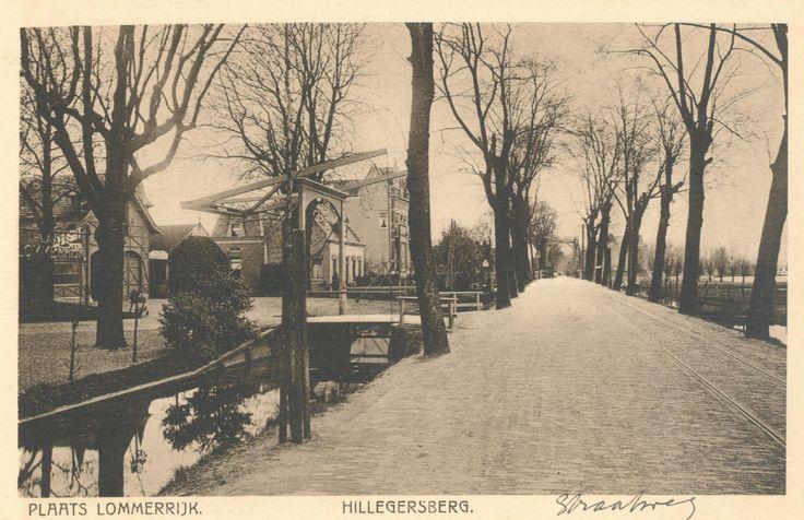 Straatweg, westzijde, bij uitspanning Lommerrijk, voorheen Vrouwe Romein. (datering: 1910 (Geschat), pbk 9827)