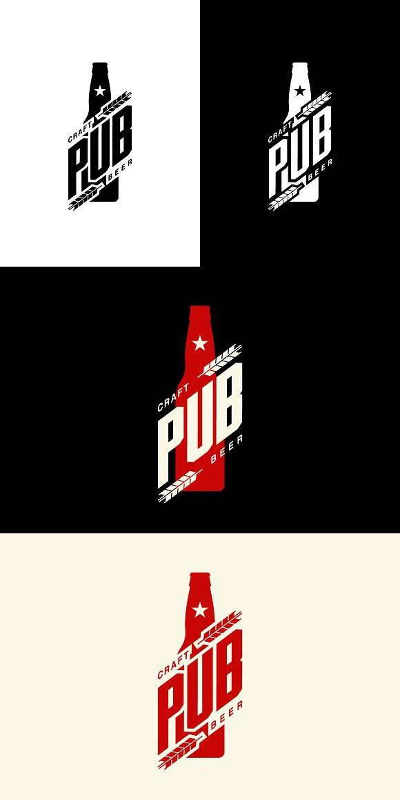 Craft Beer Brewery Logo Men/'s Tee Image by Shutterstock