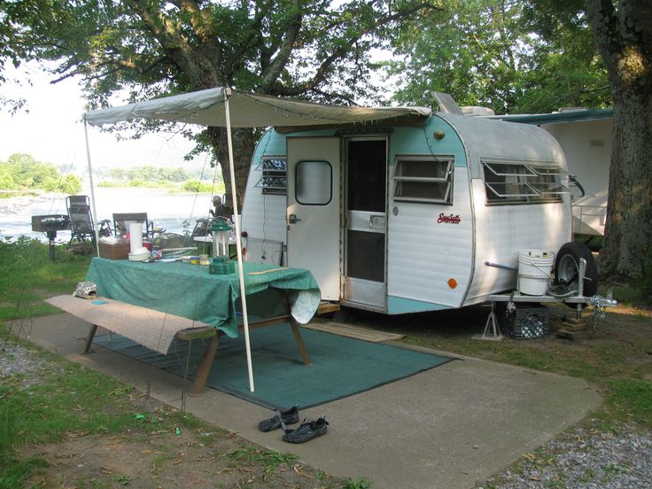 1962 Yellowstone 16ft Vintage Camper For Sale Now Went On One National Park