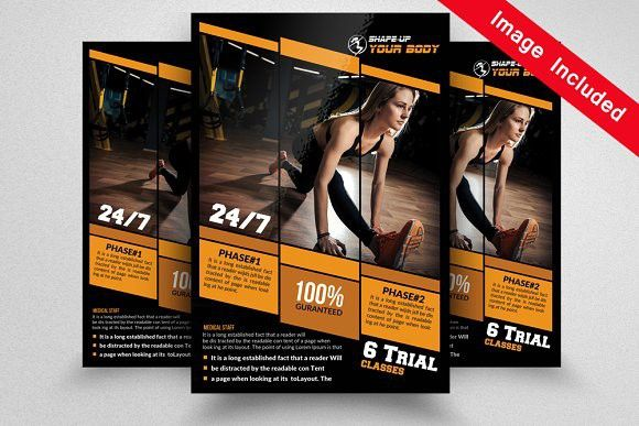 Free Fitness Flyer Templates Free Flyer Template By Hloomcom Get