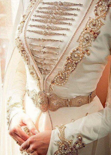 Ossetian Wedding dress