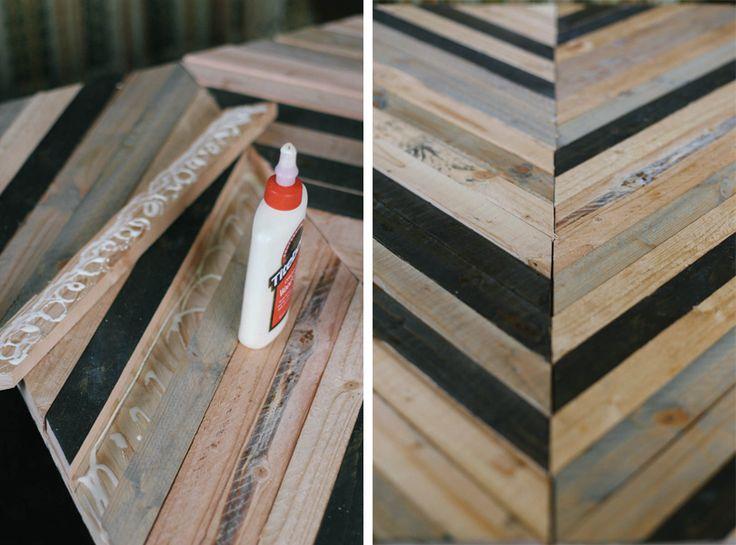 Best 25+ Chevron coffee tables ideas on Pinterest | Pallet table ...