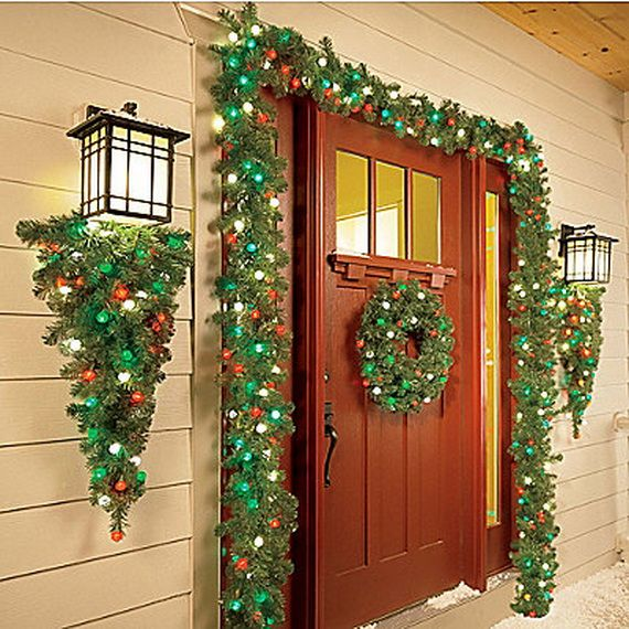 Best 25+ Christmas Entryway Ideas On Pinterest