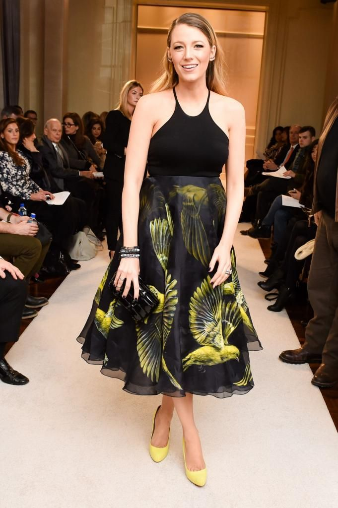 Blake Lively - Marchesa Fashion Show in New York City : Global Celebrtities (F) FunFunky.com
