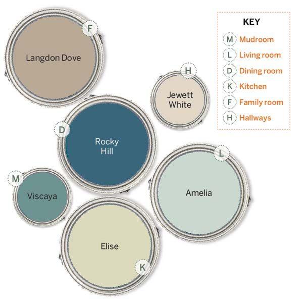 Best 25 House Color Palettes Ideas On Coastal Paint Colors And