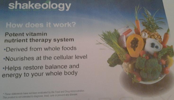 How does Shakeology work? shakeology.fitnesspartner.us