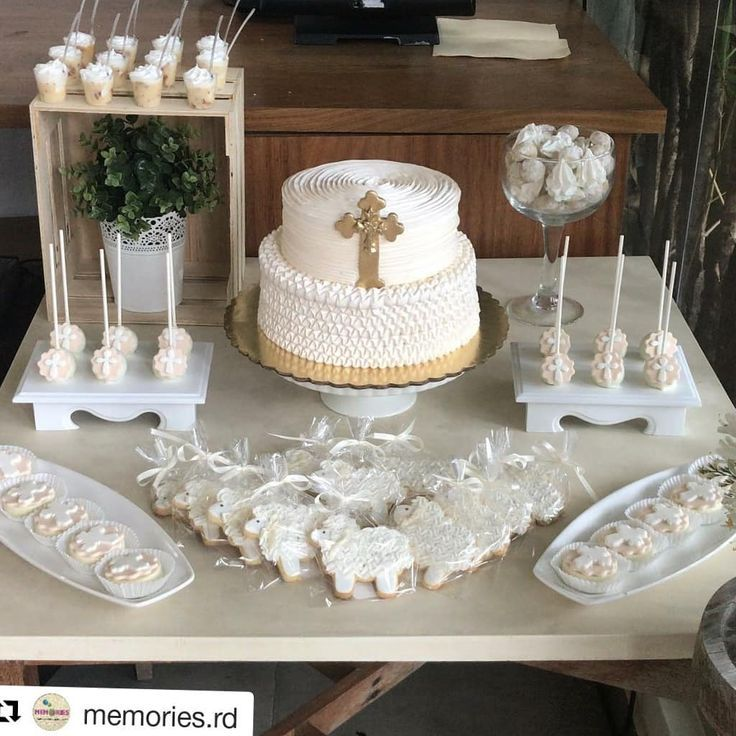 christening Holy communion party, Baptism decorations