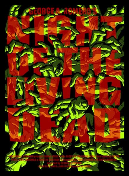 Night of the living dead alternative poster by TANXXX