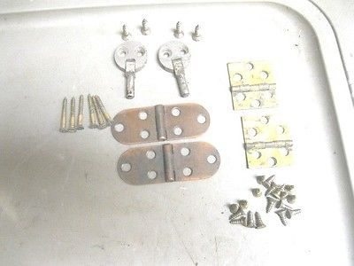 Singer Treadle Sewing Machine Double Hole Head Hinges
