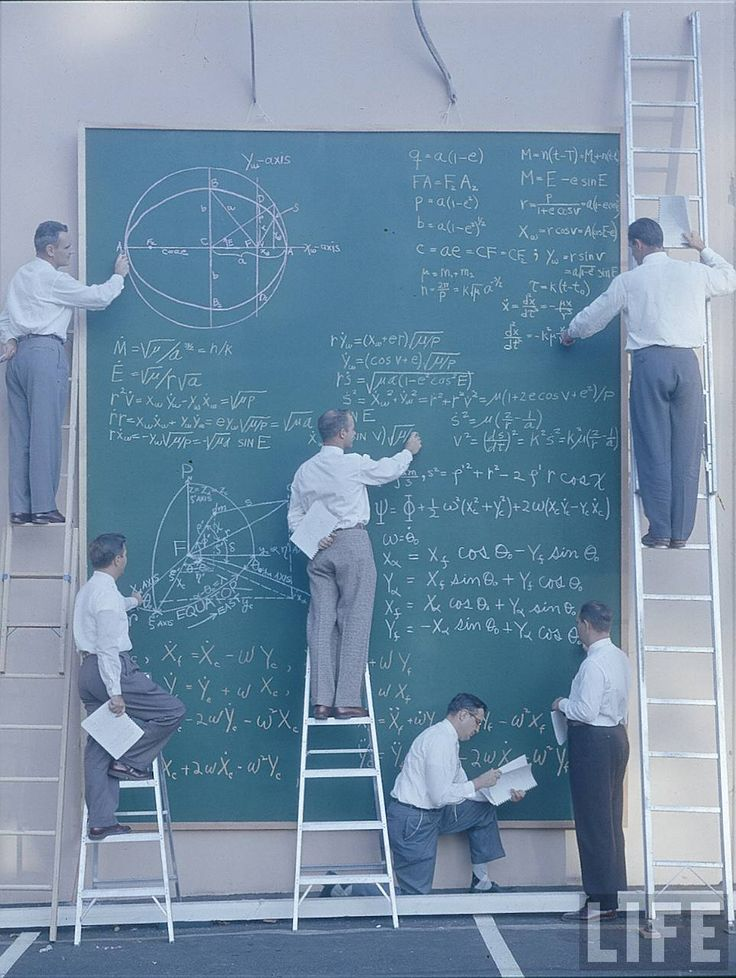 NASA Before Powerpoint, 1961