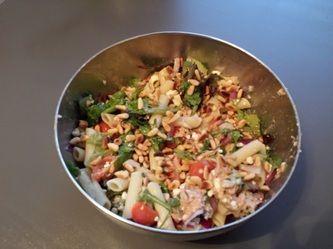 #Recept: Pastasalade met #tonijn