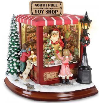 Carillon Negozio di Babbo Natale Medio