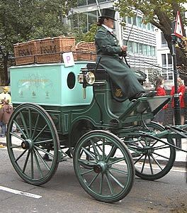 Fortnum & Mason Delivery Carriage ~ London