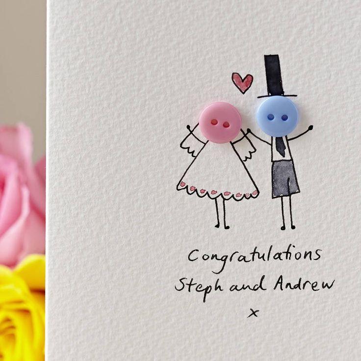 ▷ 1001 + DIY Ideen und Anleitungen zum Hochzeitskarte basteln