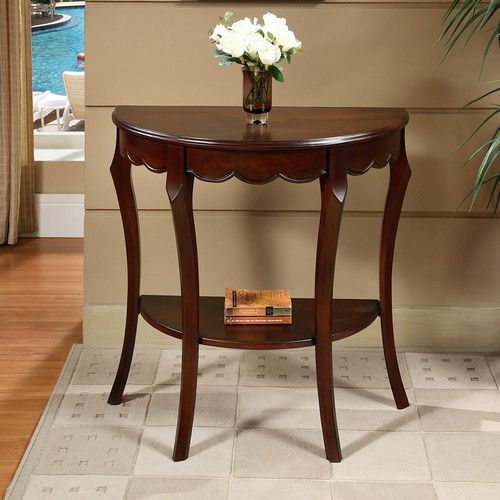 Found it at Wayfair - Half Moon Console Table