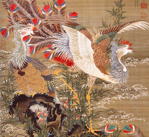 Ito Jakuchu- 伊藤若冲 : サボテン団