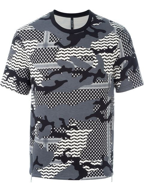 Shop Neil Barrett camouflage pattern short sleeve sweatshirt in O' from the world's best independent boutiques at farfetch.com. Shop 400 boutiques at one address.