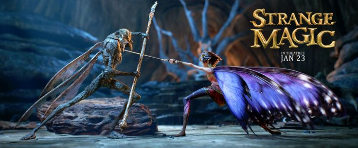 #StrangeMagic | Official Trailer | In theaters January 23, 2015