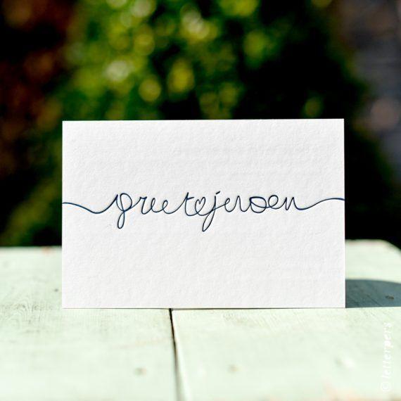 letterpers kalligrafie trouwkaart letterpress wedding