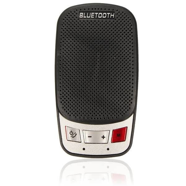 Handsfree Bluetooth Wireless Car Kit Speaker Phone Sun Visor Clip Portable Slim  Worldwide delivery. Original best quality product for 70% of it's real price. Buying this product is extra profitable, because we have good production source. 1 day products dispatch from warehouse. Fast &...