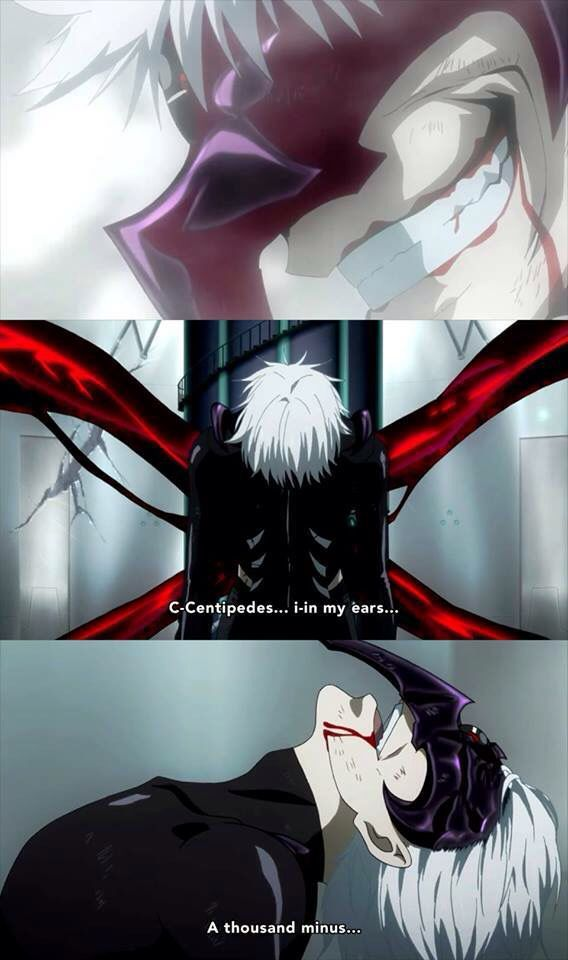Day 27- most badass scene ever? Tokyo Ghoul. this scene . its awesome and great and it throws the feels at u!! *cries*