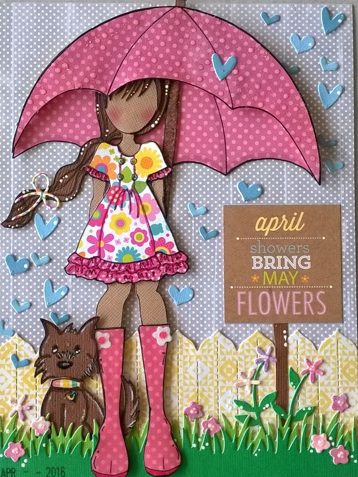 April journal page- keira doll ♥ By Daniela Marie.
