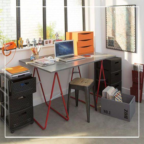 1000 images about bureaux on pinterest coins mauve and - Melamine c est quoi ...
