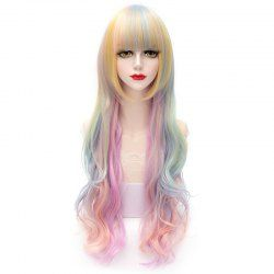 SHARE & Get it FREE | Fashion Lolita Style Full Bang Colorful Ombre Long Wavy Synthetic Capless Cosplay Wig For WomenFor Fashion Lovers only:80,000+ Items • FREE SHIPPING Join Nastydress: Get YOUR $50 NOW!