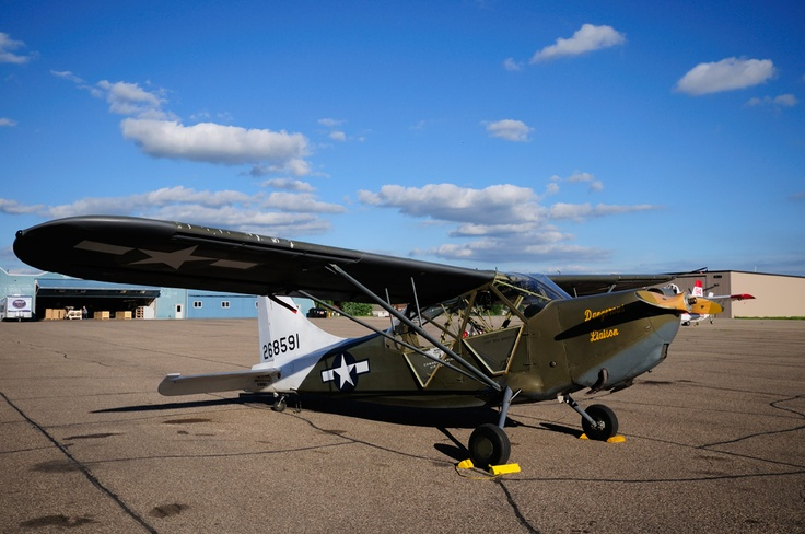 Stinson L5A Sentinel of the Commemorative Air Force