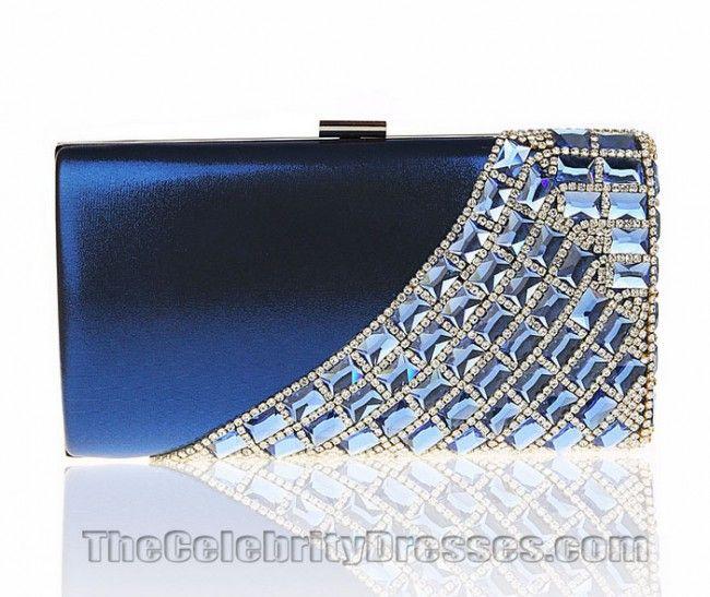Women's Fashion Stylish Crystal Evening Bag Handbags #ClutchBag #ClutchBags