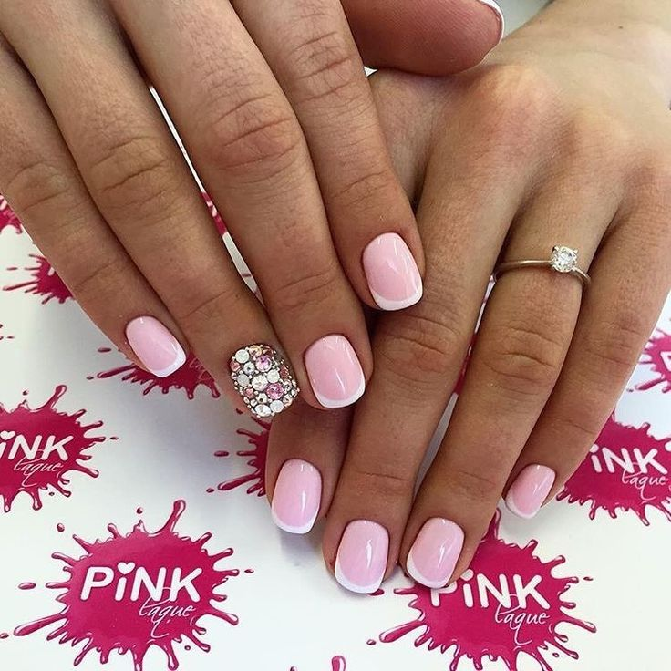 570 best French nails images on Pinterest