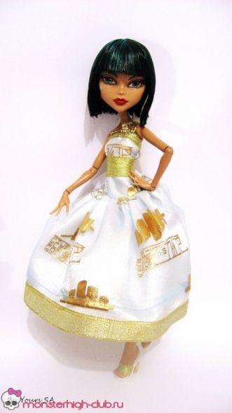 Sukienkę i buty na Monster High Cleo   Klub