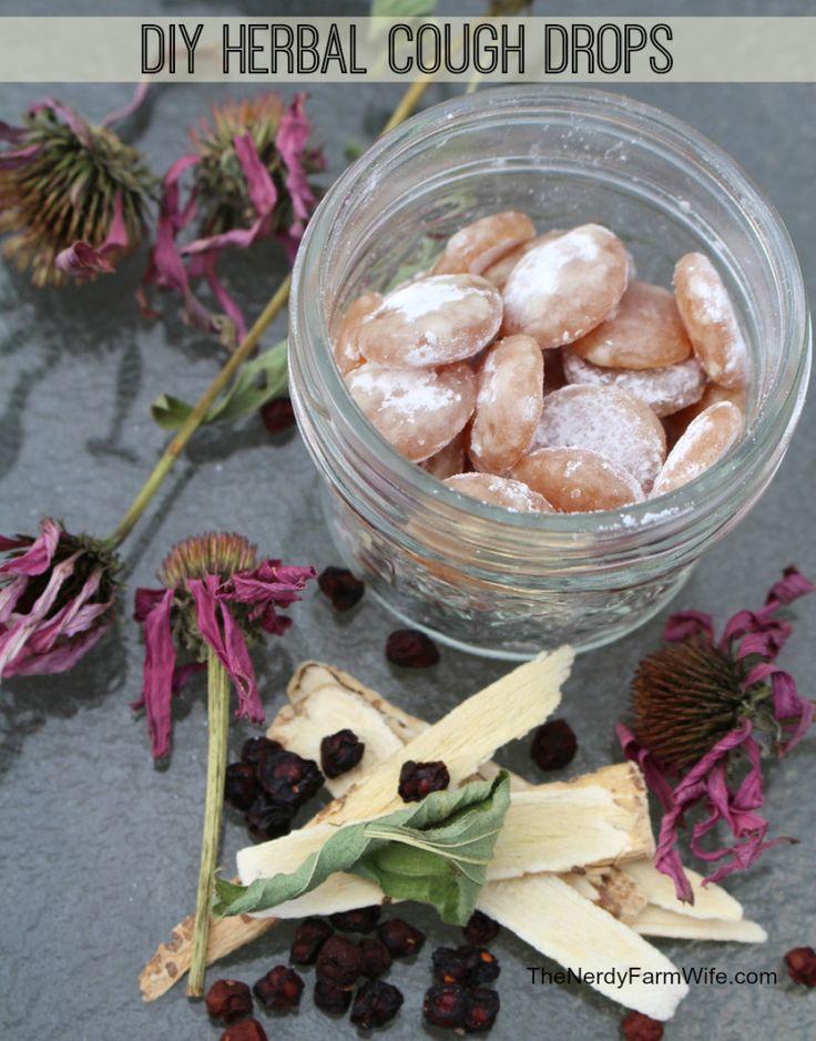 DIY Healthy Herbal Cough Drops Recipe