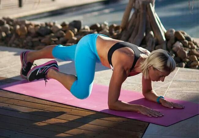 Advanced plank