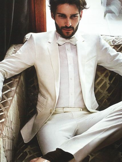 Best 25  White wedding suit ideas on Pinterest | White tuxedo ...
