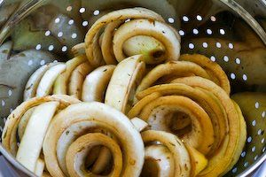 Marinated and Roasted Vidalia Onion Rings with Parmesan | Onion Rings ...