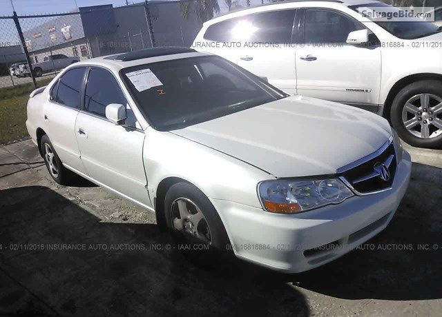 #SalvageCars 2002 #Acura 3.2TL for Sale at SalvageBid Auto Auction