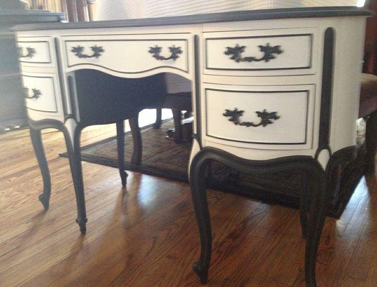 Antique Drexel Dovetail Drawers Ladies Writing Desk