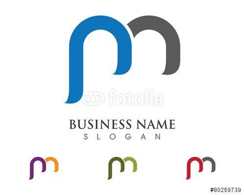 Vector: m, pm logo