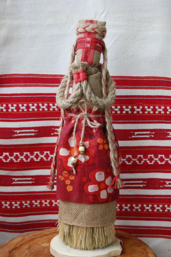 #UkrainianFolkDoll #Motanka Traditional Red Ukrainian Motanka Doll Rag Doll by MotankiDolls, $49.00